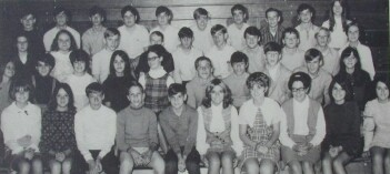 Sophomores in 1969, morning class