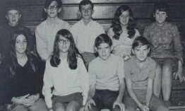 Sophomores in 1969, afternoon class